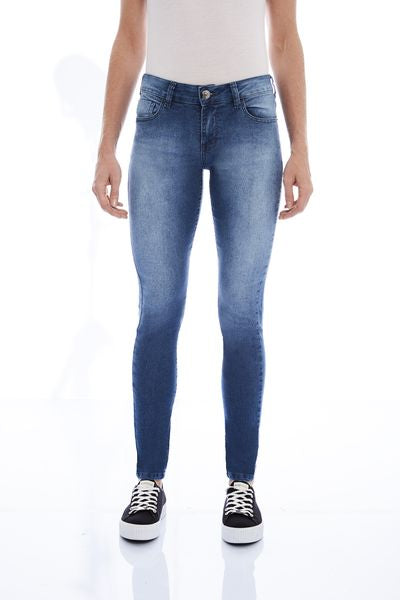 CALÇA JEANS SUPER SKINNY C2 BLUE WASH