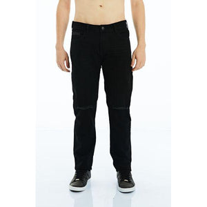 CALÇA JEANS PREMIUM SLIM BLACK DENIM