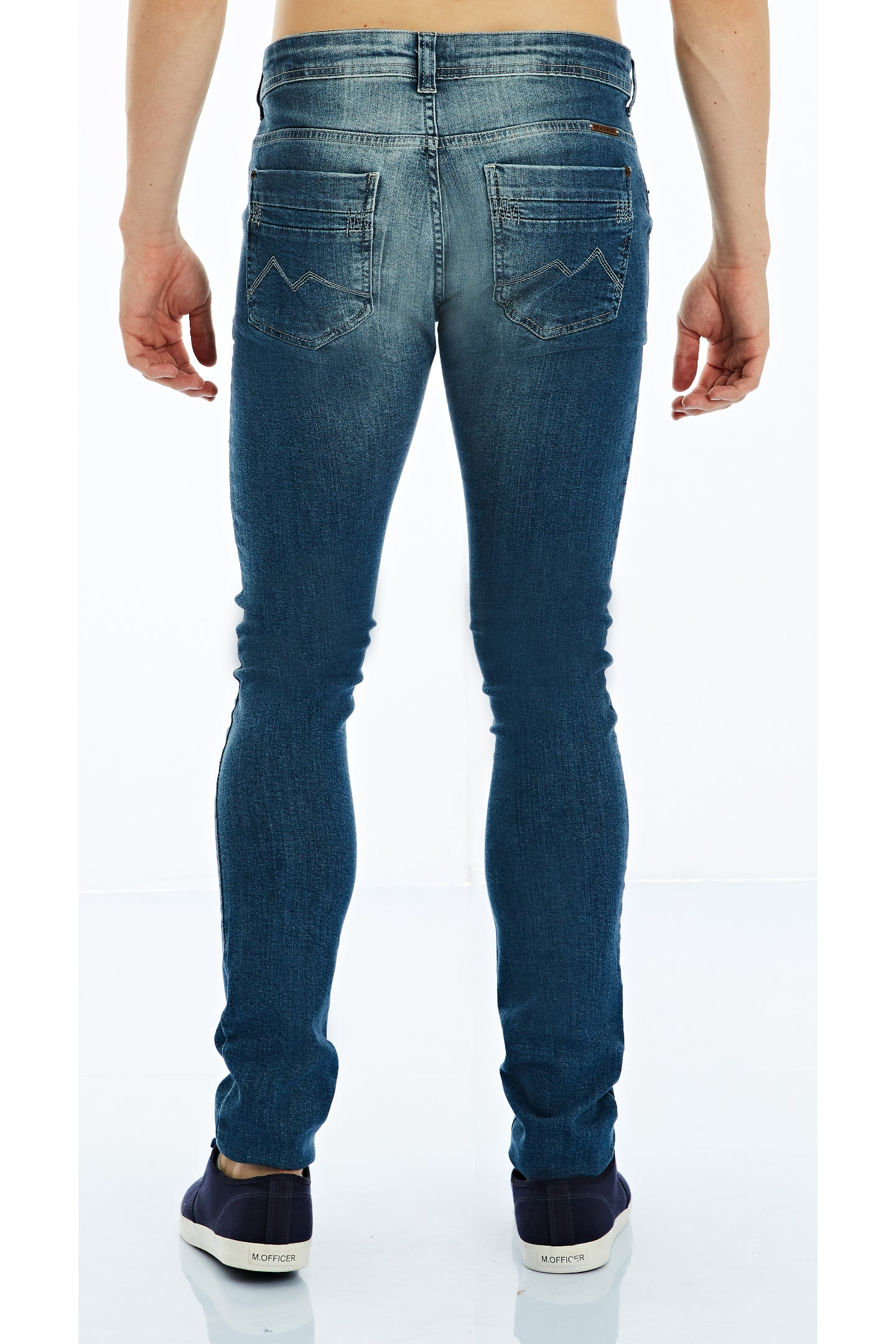 CALÇA JEANS PREMIUM COOL FIT BLUE WASH