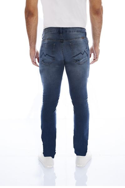 CALÇA JEANS COOL FIT BLUE WASH