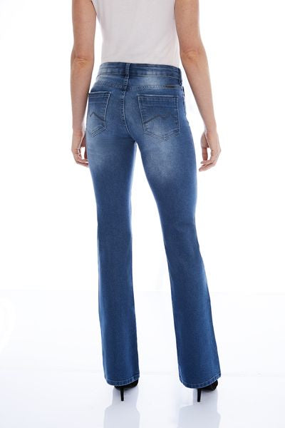 CALÇA JEANS MINI BOOT C3 LIGHT BLUE