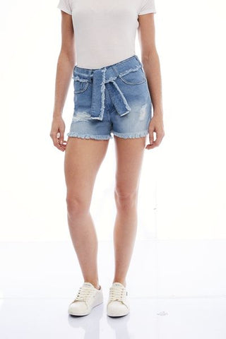 SHORTS JEANS  LIGHT BLUE C4
