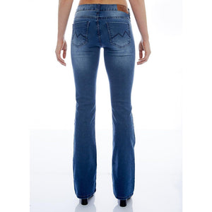 CALÇA JEANS BOOT CUT C2 BLUE WASH