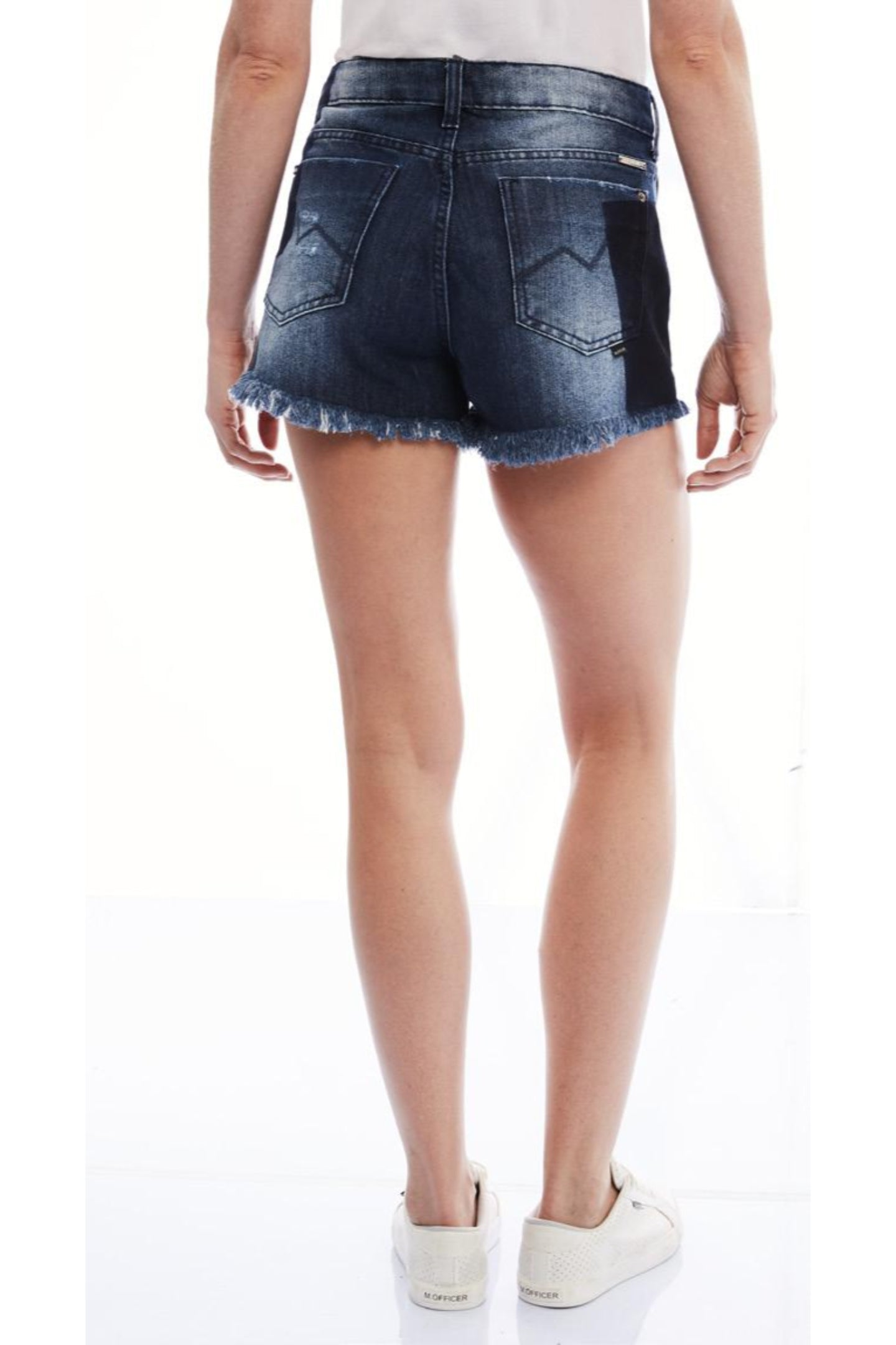 SHORTS JEANS BLUE WASH RESERVA C4