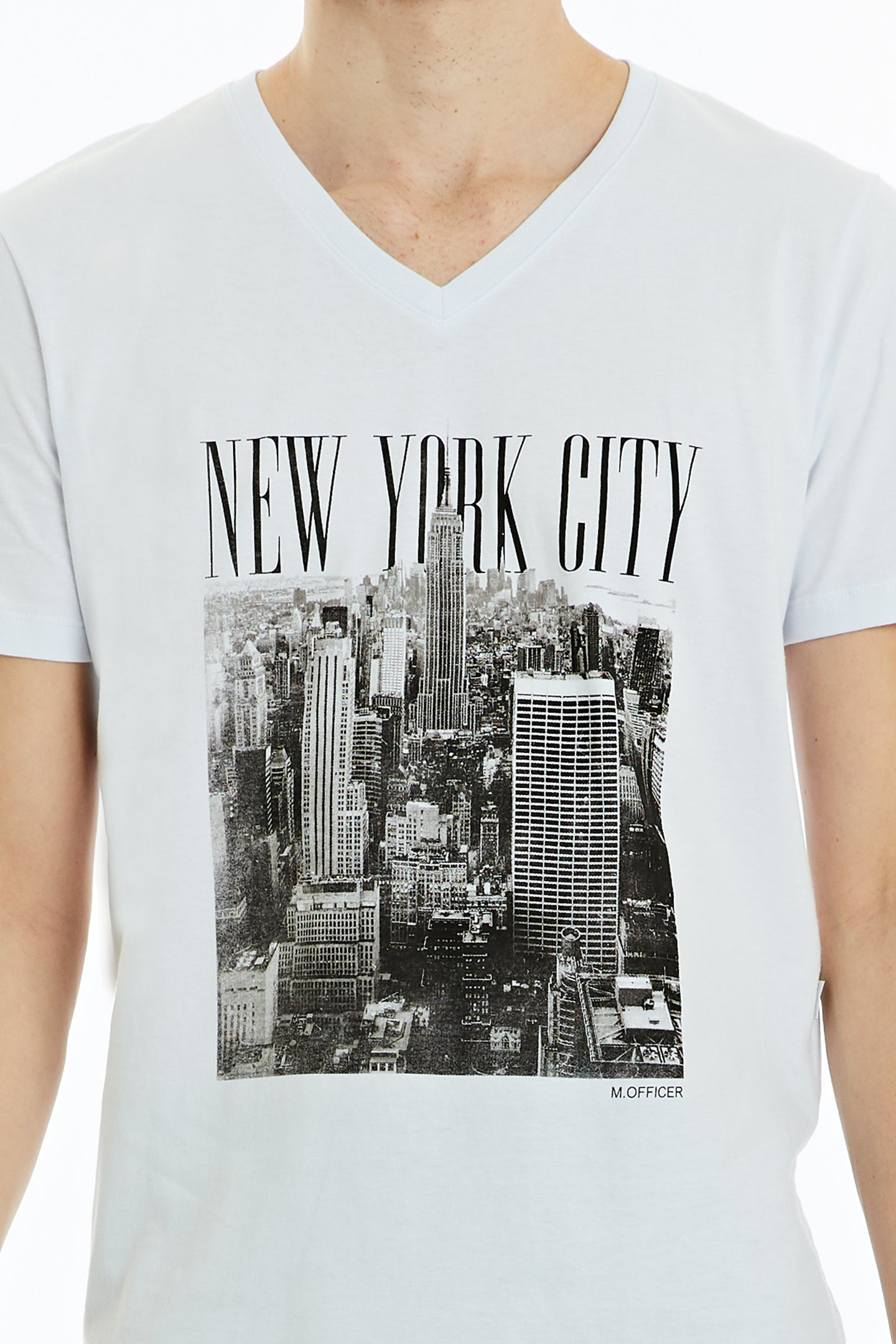 Camiseta Comfort M/C Gola V Silk New York