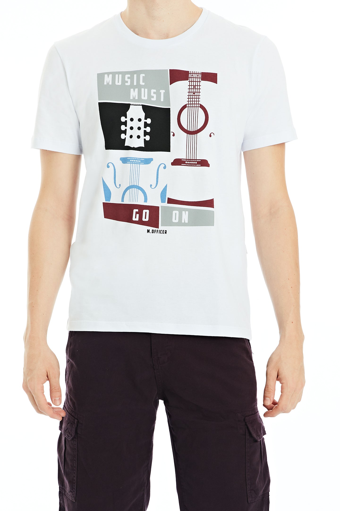 Camiseta Comfort M/C Gola C Silk Go On