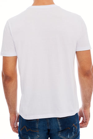CAMISETA SLIM M/C GOLA C SILK CREATE