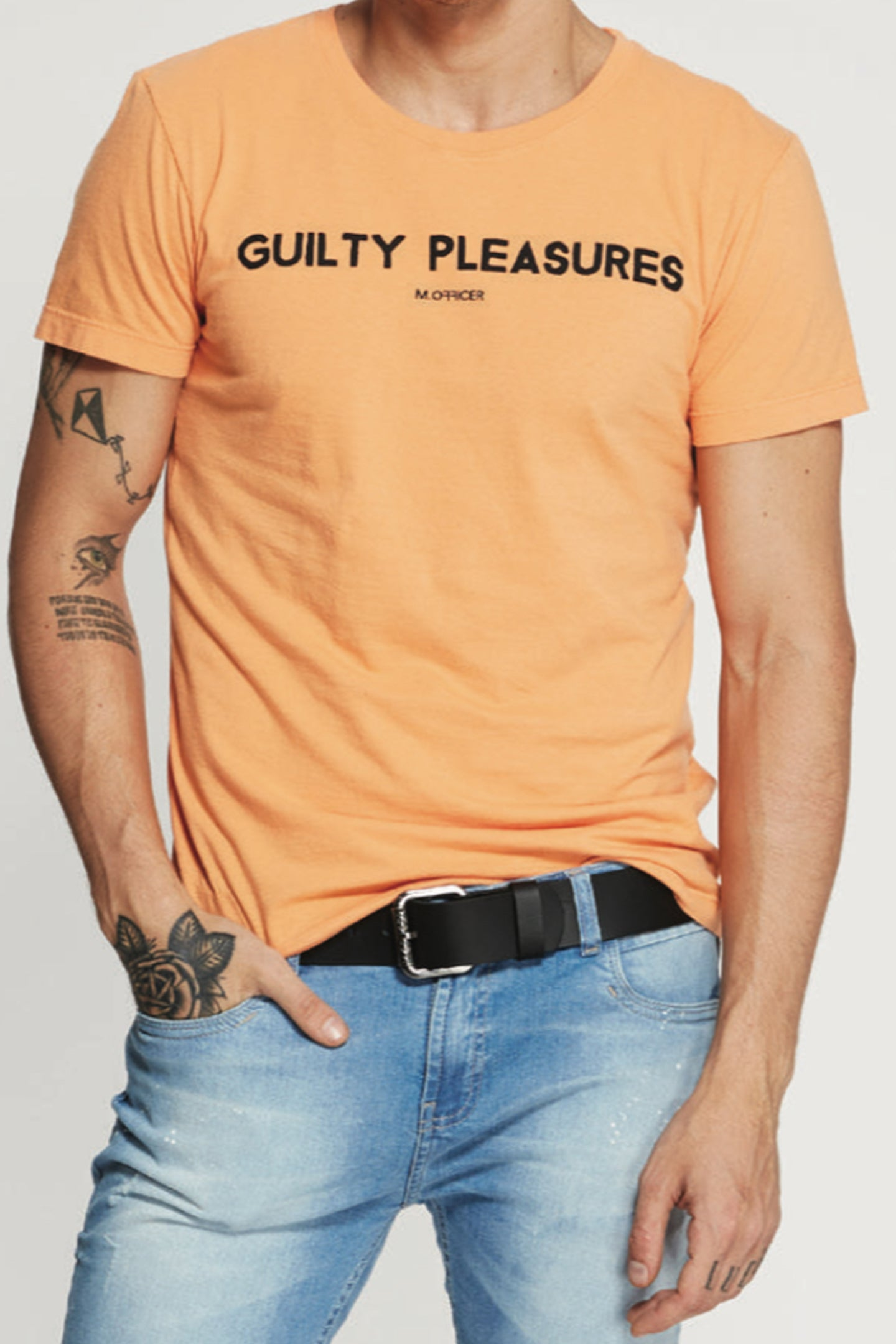 CAMISETA C M/C GOLA C SILK GUILTY