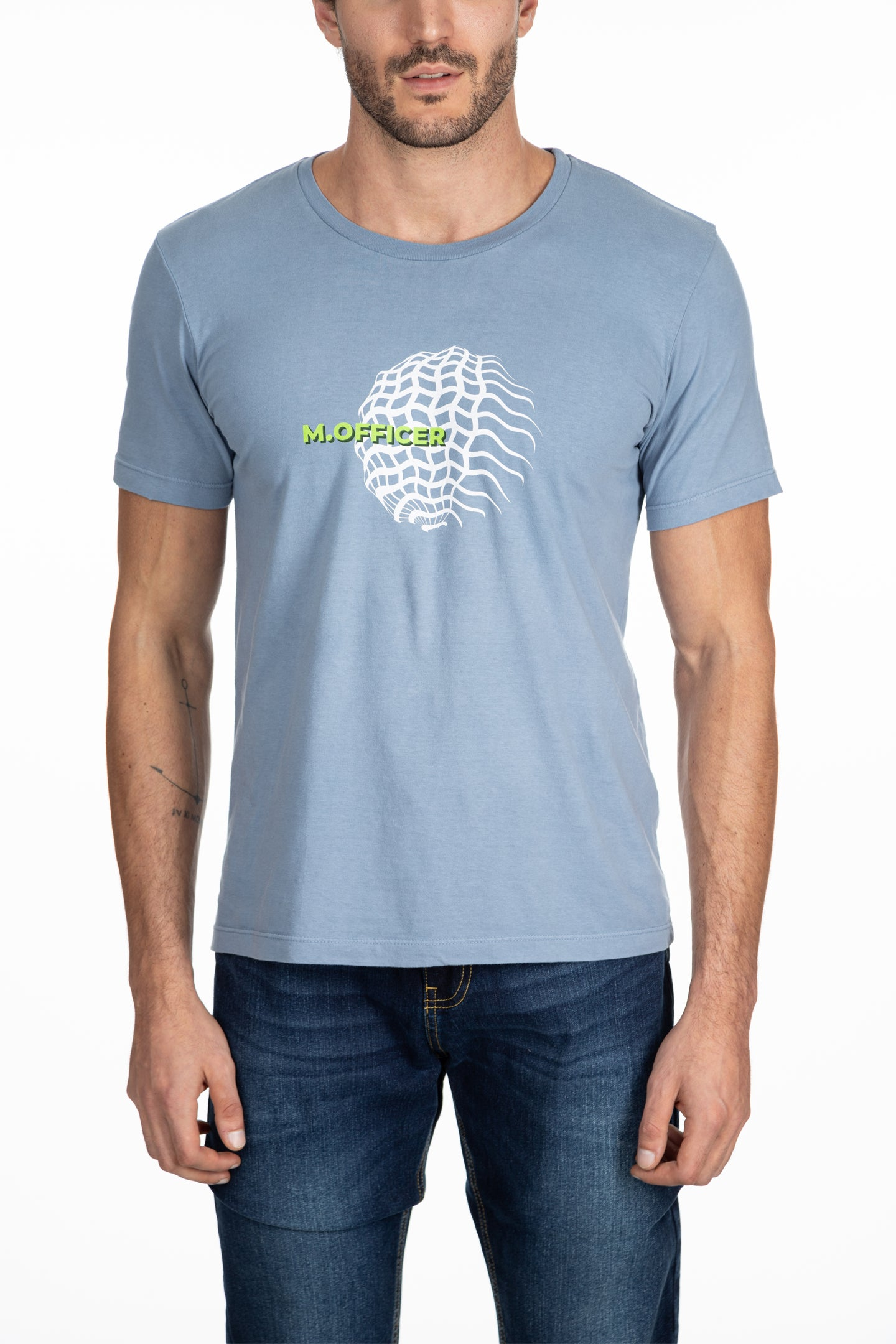 CAMISETA M/C SLIM SLIME EARTH