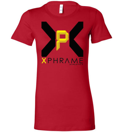 SportsMarket Premium Clothing Line-Xphrame Athletics Bella Ladies Tshirt