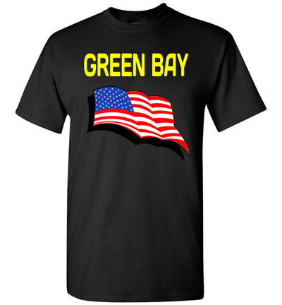 SportsMarket Premium Clothing Line-Green Bay USA Strong Tee