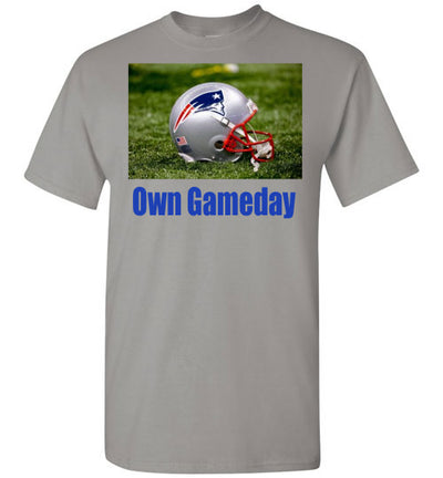 SportsMarket Premium Clothing Line-Patriots Own Gameday Tshirt-tshirt-Teescape-Gravel-S-SportsMarkets