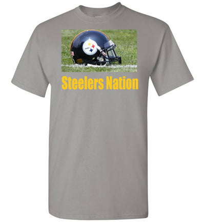 SportsMarket Premium Clothing Line-Steelers Nation Tshirt-Tshirt-Teescape-Gravel-S-SportsMarkets