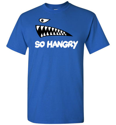 SportsMarket Premium Clothing Line-So Hangry Red Tshirt-SportsMarkets-Royal-S-SportsMarkets