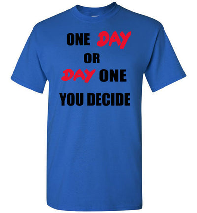 SportsMarket Premium Clothing Line-One Day Tshirt-SportsMarkets-Royal-S-SportsMarkets