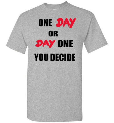 SportsMarket Premium Clothing Line-One Day Tshirt-SportsMarkets-Sports Grey-S-SportsMarkets