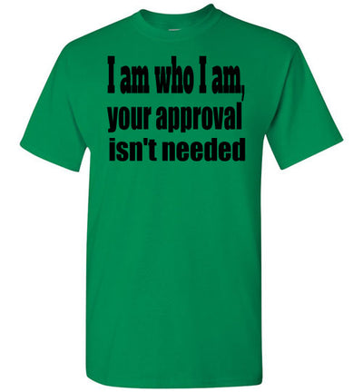 SportsMarket Premium Clothing Line-St. Paddy's Day Tshirt-Approval Isn't Needed-Tshirt-Teescape-Turf Green-S-SportsMarkets