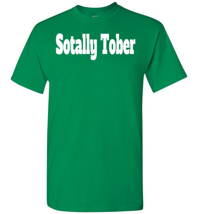 SportsMarket Premium Clothing Line-St. Paddy's Day Tshirt-Sotally Tober-Tshirt-Teescape-Turf Green-S-SportsMarkets