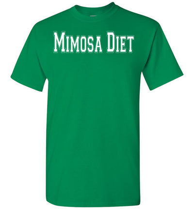 SportsMarket Premium Clothing Line-St. Paddy's Day Tshirt-Mimosa Diet-Tshirt-Teescape-Turf Green-S-SportsMarkets