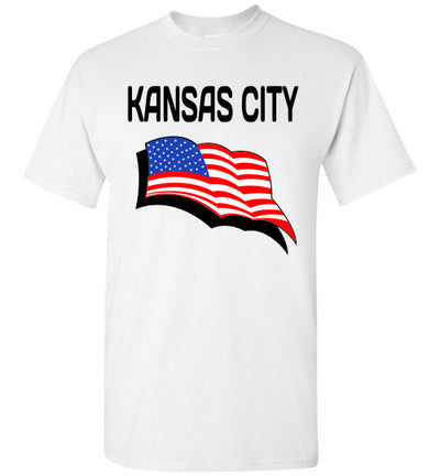 SportsMarket Premium Clothing Line-KC USA Strong Tee