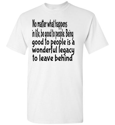 SportsMarket Premium Clothing Line-Be Good Tshirt-SportsMarkets-White-S-SportsMarkets