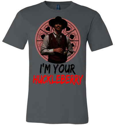SportsMarket Premium Clothing Line-Movie Tombstone Doc I'm Your Huckleberry Tshirt