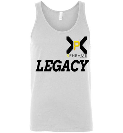 SportsMarket Premium Clothing Line-Xphrame Athletics Legact Canvas Unisex Tank Top