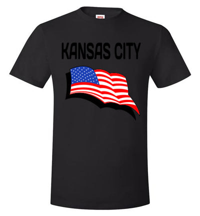 SportsMarket Premium Clothing Line-KC USA Strong Hanes Tee