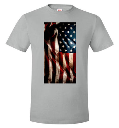 SPORTSMARKET PREMIUM CLOTHING LINE-OLD AMERICAN FLAG TSHIRT