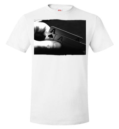 SportsMarket Premium Clothing Line-Aces Winning Hand Poker Tshirt