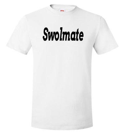 SportsMarket Premium Clothing Line-Swolmate Workout Hanes Tshirt