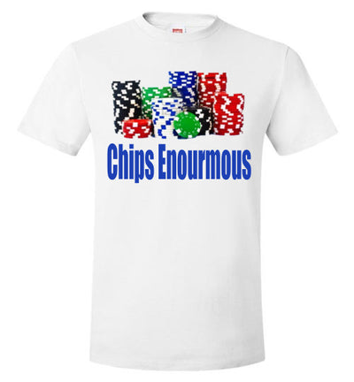 SportsMarket Premium Clothing Line-Chips Enourmous Poker Tshirt