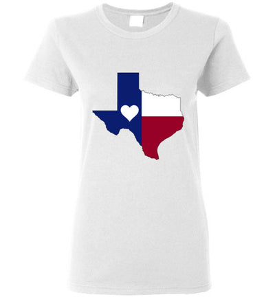 SPORTSMARKET PREMIUM CLOTHING LINE-HEART OF TEXAS LADIESTSHIRT