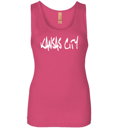 SportsMarket Premium Clothing Line-Kansas City Script Ladies Everyday Use Tank