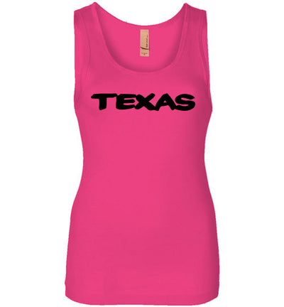 SportsMarket Premium Clothing Line-Texas Ladies Everyday Tank