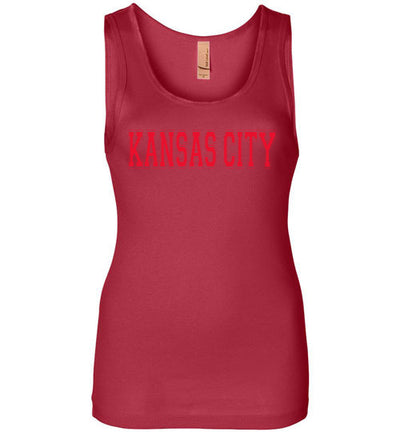 SportsMarket Premium Clothing Line-Kansas City Ladies Everyday Use Tank