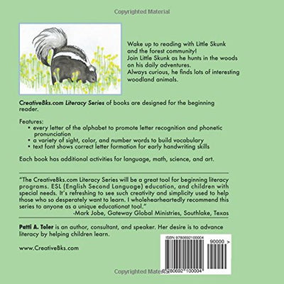 Little Skunk: Beginning Reader (Literacy Series) Product Only Available To Purchase At: WWW.CREATIVEBKS.COM-Ebook-Creative Books-SportsMarkets