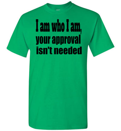 SportsMarket Premium Clothing Line-St. Paddy's Day Tshirt-Approval Isn't Needed-Tshirt-Teescape-Irish Green-S-SportsMarkets