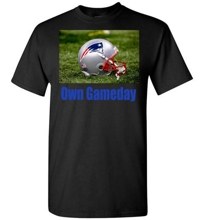 SportsMarket Premium Clothing Line-Patriots Own Gameday Tshirt-tshirt-Teescape-Black-S-SportsMarkets