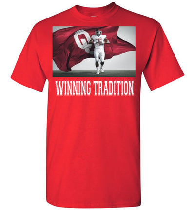 SportsMarket Premium Clothing Line-Oklahoma Sooners Winning Tradition-Tshirt-Teescape-Red-S-SportsMarkets