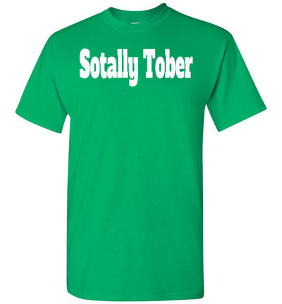 SportsMarket Premium Clothing Line-St. Paddy's Day Tshirt-Sotally Tober-Tshirt-Teescape-Irish Green-S-SportsMarkets