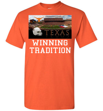 SportsMarket Premium Clothing Line-Texas Longhorns Winning Tradition-Tshirt-Teescape-Orange-S-SportsMarkets