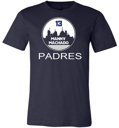 SportsMarket Premium Clothing Line-Machado's City-Padres Tshirt-Tshirt-SportsMarkets-Navy-S-SportsMarkets