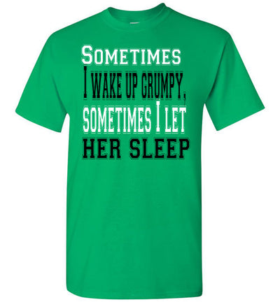 SportMarket Premium Clothing Line-St. Paddy's Day Tshirt-Wake Up Grumpy-Tshirt-Teescape-Irish Green-S-SportsMarkets
