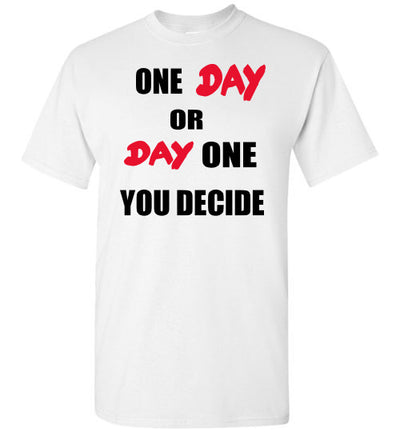 SportsMarket Premium Clothing Line-One Day Tshirt-SportsMarkets-White-S-SportsMarkets