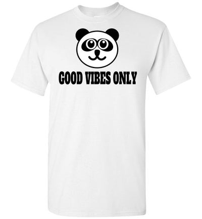 SportsMarket Premium Clothing Line-Good Vibes Only Tshirt-SportsMarkets-White-S-SportsMarkets