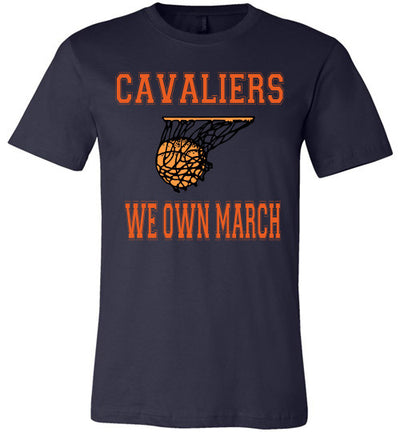 SportsMarket Premium Clothing Line-Virginia Cavaliers We Own March Tshirt