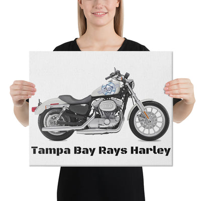 SportsMarket-Tampa Bay 'Harley' Rays Canvas