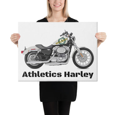 SportsMarket-Oakland Athletics Harley Canvas