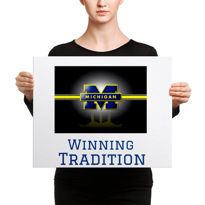SportsMarket-Michigan Winning Tradition Canvas-canvas-SportsMarkets-16×20-SportsMarkets